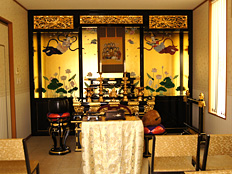 千葉東霊園の充実した法要所